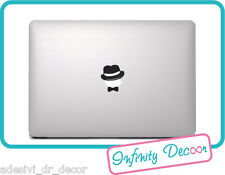 "Adesivo ""Cappello + Papillion"" per  Mac Book Pro/Air 13 -"