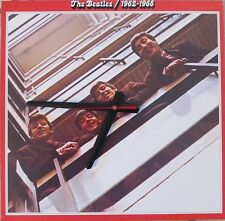 THE BEATLES 1962-66*ALBUM COVER CLOCK!!!*GREAT GIFT--FREE SHIPPING!!!