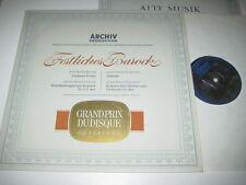 LP/FESTLICHES BAROCK/MOURET/HÄNDEL/BACH/TELEMANN/Archiv Produktion 104810