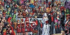 Deadpool Wedding Marvel Comics 8X11 Poster PHOTO Picture  013