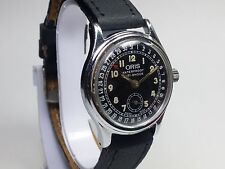 AUTHENTIC ORIS POINTER CALENDER SUB-SECOND 704 HAND-WINDING SWISS  WATCH