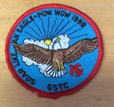 BOY SCOUTS GSTC SOAR LIKE AN EAGLE POW WOW 1998  PATCH  NEW