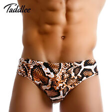 Mens Sexy Swimwear Swim Briefs Bikini Surfing Board Shorts Low Waist Classi Cut