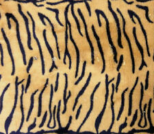 TEX EX 431 TIGER PRINT MULTI CUDDLE FLEECE ANIMAL BLANKET DRESS CRAFT FABRIC