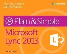 Microsoft Lync 2013 Plain & Simple-ExLibrary