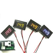 1Pcs DC 0-30V 2 Wire LED Display Digital Voltage Voltmeter Panel Car Motorcycle