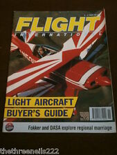 FLIGHT INTERNATIONAL # 4309 - LIGHT AIRCRAFT BUYERS GUIDE - MARCH 11 1992
