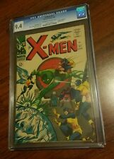 X-MEN #21 CGC 9.4 LUCIFER APPEARANCE Amazing COVER CGC Magento Off White-Whitr