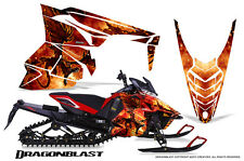 YAMAHA VIPER 2014-2016 SNOWMOBILE SLED WRAP GRAPHICS KIT CREATORX DRAGONBLAST