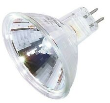 50 Watt MR16 12V Flood EXN GU5.3 Halogen Light Bulb With Cover Glass 50W 50MR16