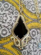 Kendra Scott Rare Teresa Black Onxy Necklace.  Brand New ��NWT �� HTF