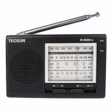 Tecsun R-909TV Radio FM/AM/VHF Broadcasting Receiver 56-108MHz Mini Portable