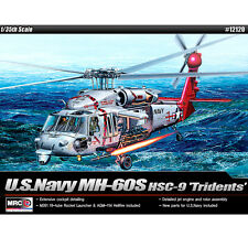Academy 1/35 Sikorsky MH-60S HSC-9 Tridents Plastic Model Kit Helicopter #12120