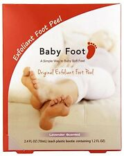 Baby Foot Lavender Scented Original Exfoliating Foot Peel (1 Pair - 2 Booties)