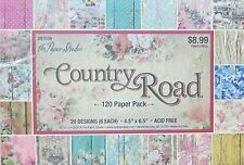 Country Road 4.5x6.5 Paper Pack by The Paper Studio  Pretty Vintage Paper