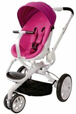 Quinny Moodd Auto Unfold Single Baby Stroller Pink Passion Mood Brand NEW 2015