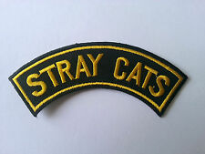 HEAVY METAL PUNK ROCK MUSIC SEW / IRON ON PATCH:- STRAY CATS (a) BRIAN SETZER