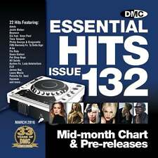 DMC Essential Hits 132 Chart Music DJ CD Ft Adele ELO Justin Bieber James Bay