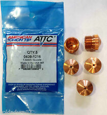 5 Qty Plasma Cutting Torch Nozzle Tip  SAF  CPM15 FRO 0409 - 1216 -  Made in USA