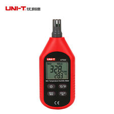 UNI-T UT333 Indoor LCD Digital Temperature Humidity Meter Thermometer Hygrometer