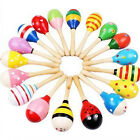 1Pc Kids Baby Gift Musical Hammer Toy Wooden Maraca Rattles Shaker Percussion