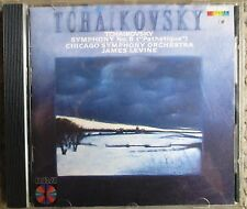 Tchaikovsky Symphony No. 6 Chicago/Levine CD 1st /First Press Made In Japan RCA