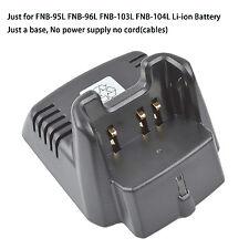 CD-34 Li-ion Charger Base no power supply for Vertex Standard VX351 VX354