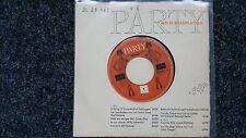 Party mit Schallplatten 7'' Single (James Brothers, Bill Ramsey, Frankie Avalon)