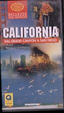 CALIFORNIA dal grand canyon a SAN DIEGO  vhs SCATOLATO