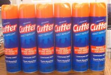 6 qty-Cutter Unscented Repellent Mosquito Insect Spray 11 oz-10% DEET--FREE SHIP