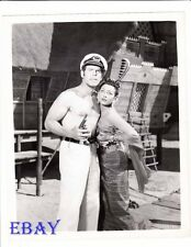 Fred MacMurray barechested VINTAGE Photo Vera Ralston Fair Wind To Java
