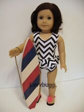 "NEW! Surf Board for 18"" American Girl Dolls Widest Selection! Found It!"
