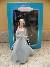 Hallmark 2001 Porcelain Barbie Doll Club Exclusive Christmas Ornament