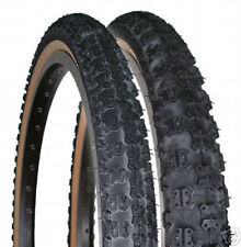 SKINWALL NOS BMX TIRES 20x1.75/2.125 PAIR old school  COMP 3 STYLE