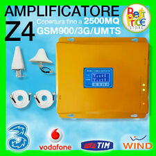 KIT AMPLIFICATORE Z4 RIPETITORE SEGNAL GSM UMTS 3G ANTENNA TIM WIND VODAFONE TRE