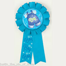 AWARD RIBBON For Baby Shower BOYS Blue Party Clothesline Range Ideal For Games