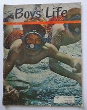 BOY'S LIFE magazine Aug 1963 UNDERWATER DIVING-Coke advertisement-MICKEY MANTLE