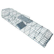 MINK WOODCHUCK GROUNDHOG DOUBLE DOOR TRAP HIGH QUALITY STEEL FREE SHIPPING