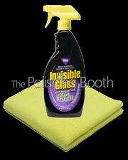 Stoner Invisible Glass with Rain Repellent with Microfibre Towel