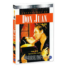 Adventures Of Don Juan (1948) DVD - Vincent Sherman (*New *Sealed *All Region)