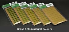 DioDump DD011-K 6mm realistic grass tufts VALUE PACK! 200 pcs diorama scenery