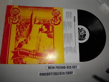 LP Punk Eighth Route Army - Nihilist Olympics (13 Song) 1 DIMENSIONAL REC / OIS