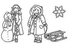 Marianne SWEET WINTER Clear Rubber Stamp Set 14 Reduced