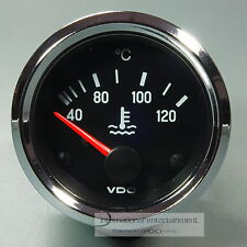 VDO KÜHLWASSER  INSTRUMENT *CHROME EDITION*  120°  COOLING WATER GAUGE 12V  52mm