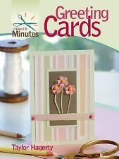 Make It in Minutes: Greeting Cards by Taylor Hagerty (2007, Spiral)