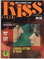 fotoromanzo KISS COLOR ANNO 1978 NUMERO 12 PELEI ALIOTTI