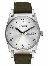 NEW Nixon A955 2232 Jane Green Women's Leather Strap Watch