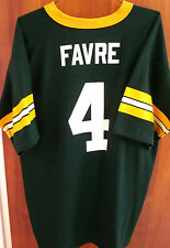 GREEN BAY PACKERS vtg #4 Brett Favre youth QB football jersey XL kids Logo 7