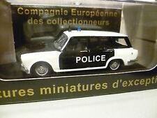 SIMCA 1500 BREAK DE POLICE ELIGOR POUR CEC  ~  NEUF