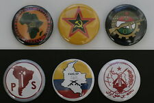 World Communist Party Button Badge Lot South Africa Chile Colombia Iran